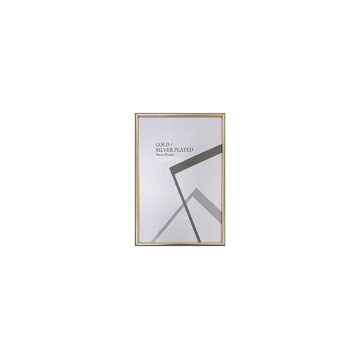 Centre Photo Frame / Picture Frame - Matte Gold 4R