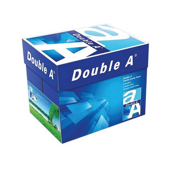 Double A Printing Paper 80 gsm (X5) A4