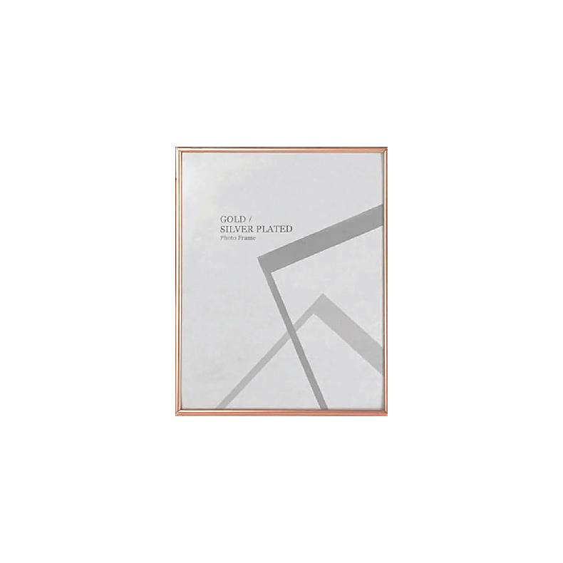 Centre Photo Frame / Picture Frame - Matte Rose Gold 6R