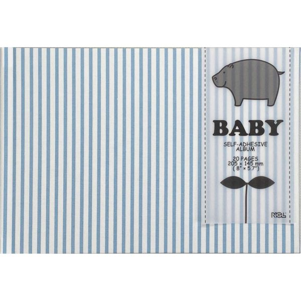 NCL Self-Adhesive Glue-Bound Baby Photo Album / Photo Book -A5