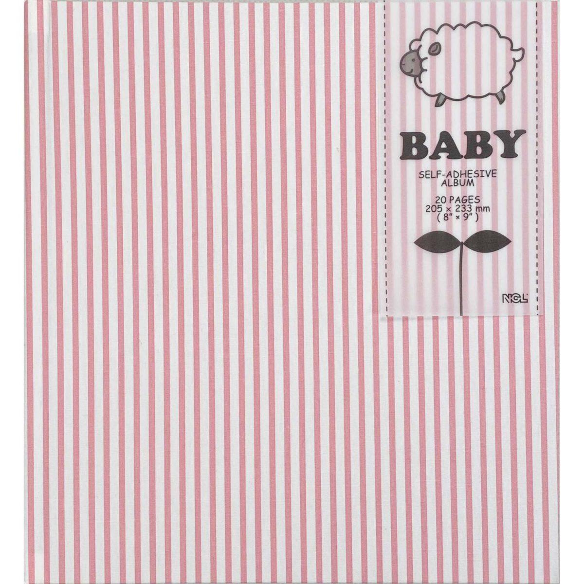 NCL Self-Adhesive Glue-Bound Baby Photo Album / Photo Book -Demi