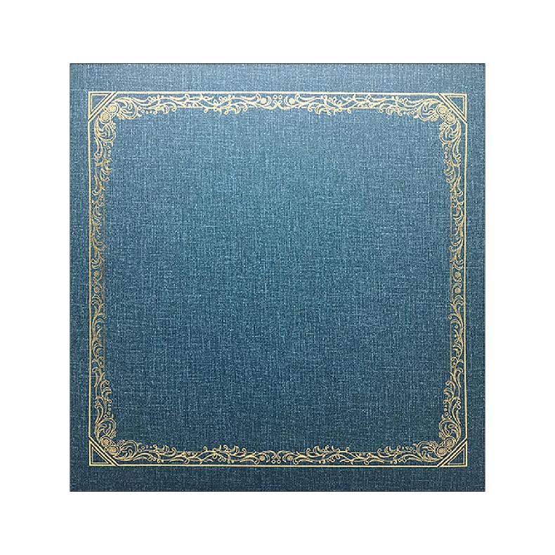 NCL Self-Adhesive L-size (25 White Sheets) Photo Album / Photo Book ( Victorian )