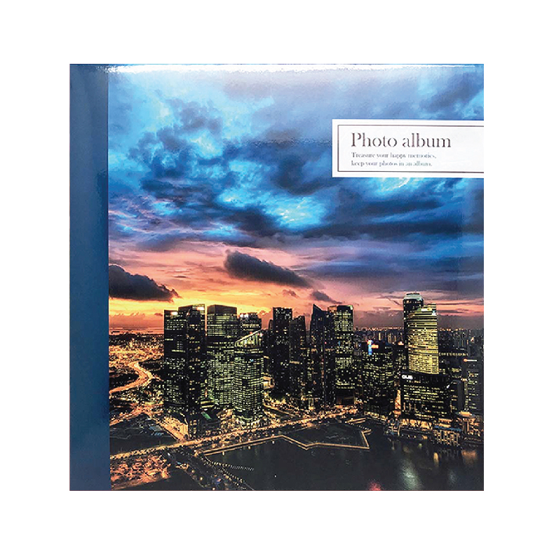 """NCL Self-Adhesive L-size """"Scenery"""" Photo Album / Photo Book (25 Sheets)"""