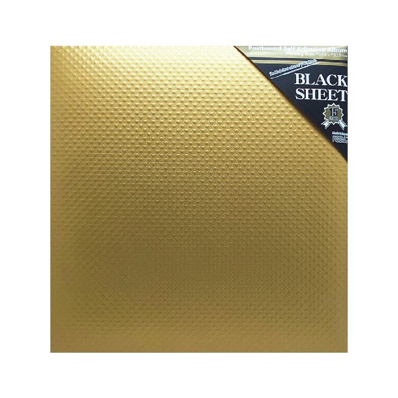 NCL Self-Adhesive L-size (15 Black Sheets) Photo Album / Photo Book ( Quilt )