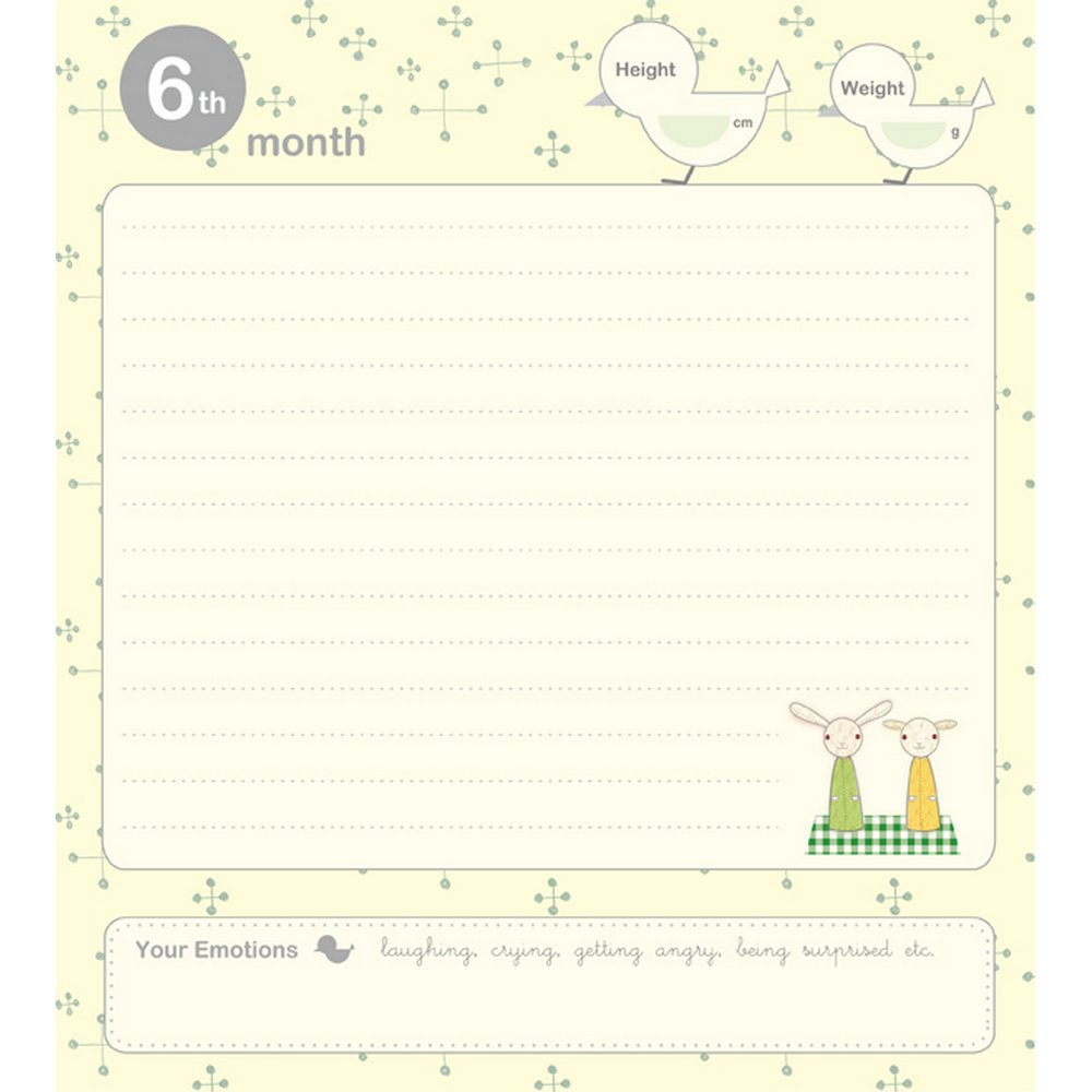 NCL Baby Journal- Inner Page