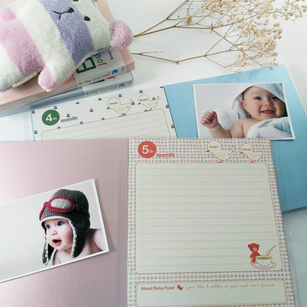 NCL Self-Adhesive Baby Journal