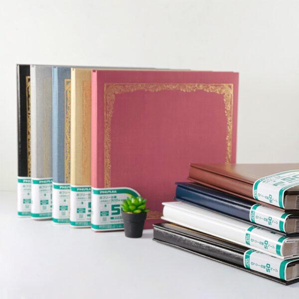 NCL Self-Adhesive L-size (White Sheets) Photo Album / Photo Book ( Victorian / Classic )