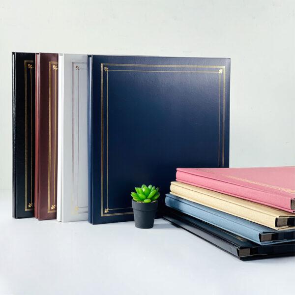 NCL Self-Adhesive L-size (Black Sheets) Photo Album / Photo Book ( Victorian / Classic )