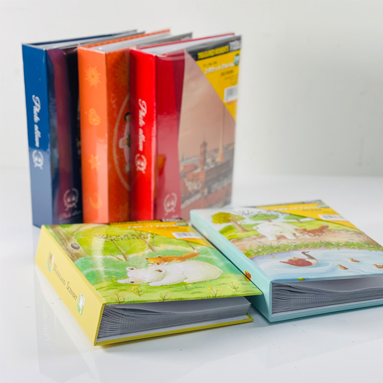 NCL Book Type 4R Pocket Album / Photo Book ( 200 pockets )