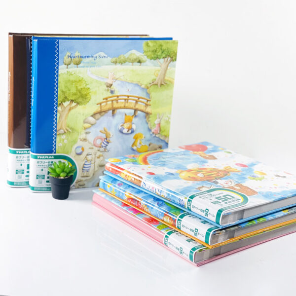 """NCL Self-Adhesive L-size """"Animal Story"""" Photo Album / Photo Book ( 25 Sheets )"""