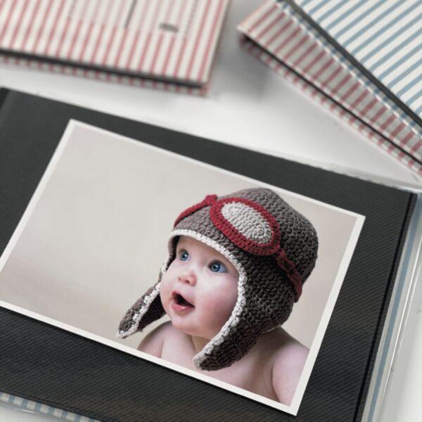 NCL Self-Adhesive Glue-Bound Baby Photo Album / Photo Book - A5
