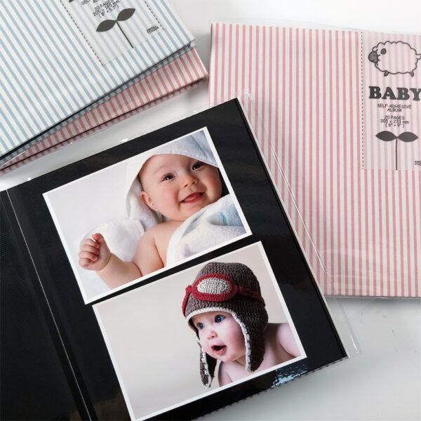 NCL Self-Adhesive Glue-Bound Baby Photo Album / Photo Book - Demi