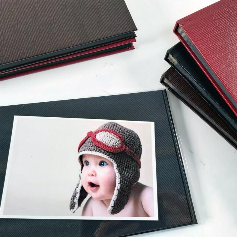 NCL Self-Adhesive Glue-Bound Photo Album / Photo Book ( Timber Series )