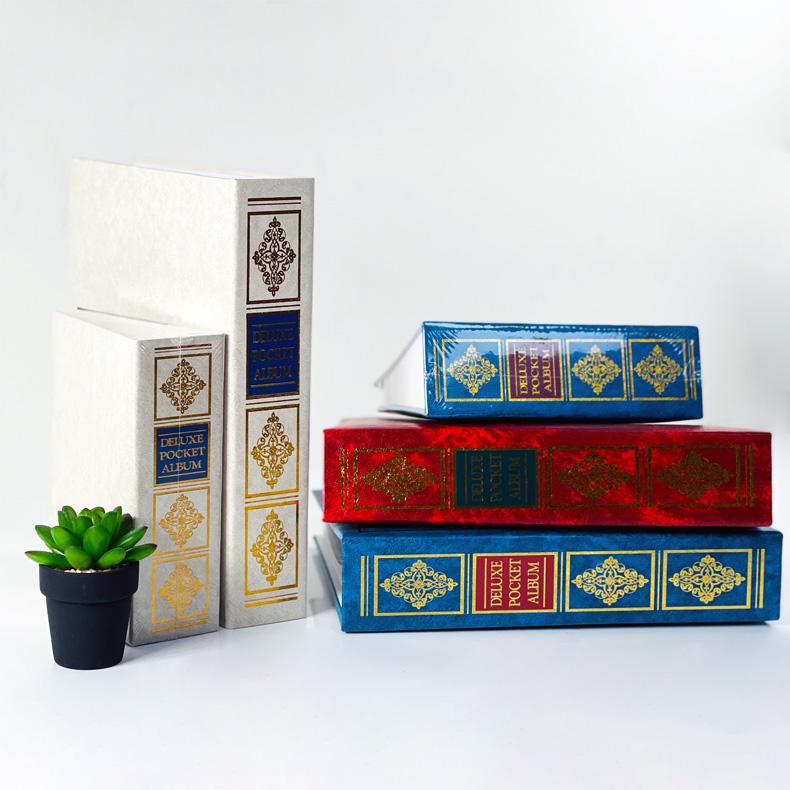 NCL Book Type 4R Pocket Album / Photo Book - Victorian Spine