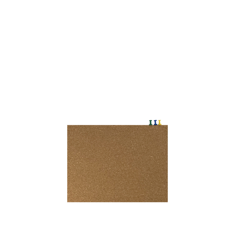 Centre Cork Board / Pin Board / Decorative / Bulletin Board - B5
