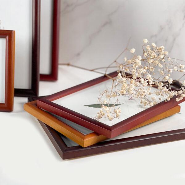 Centre Wooden Photo Frame Classic Design 1.5cm Frame