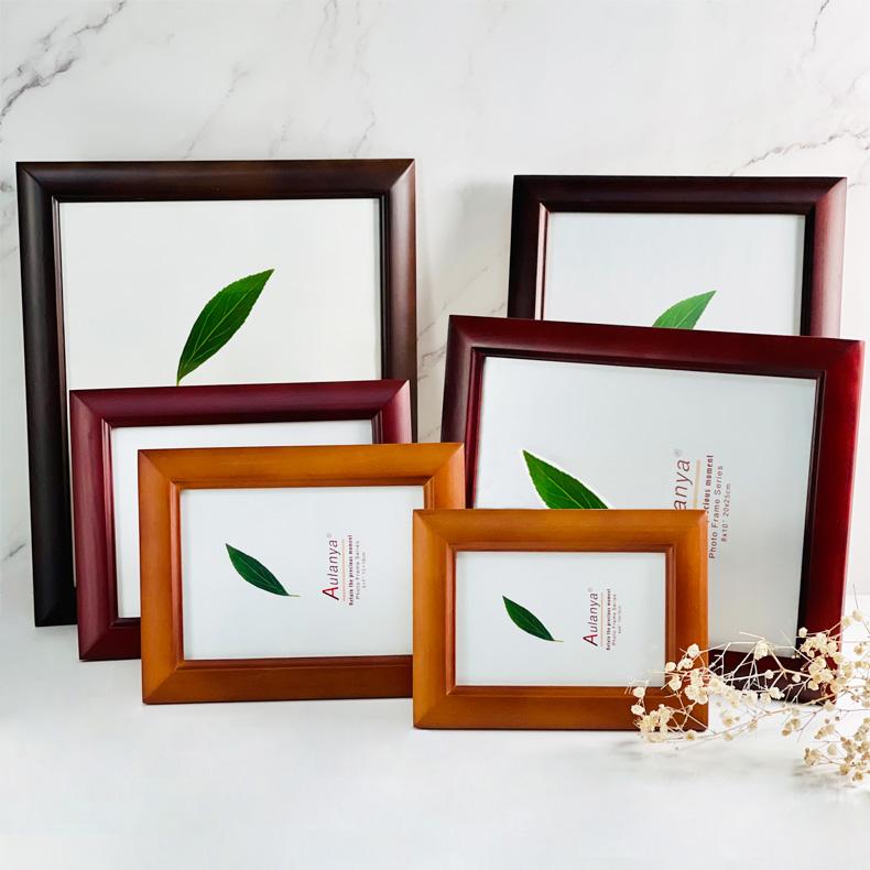 Centre Wooden Photo Frame Classic Design 3cm Frame