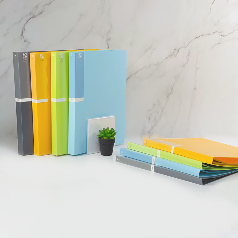 NCL Palette Clear Book 20 / 40 pockets