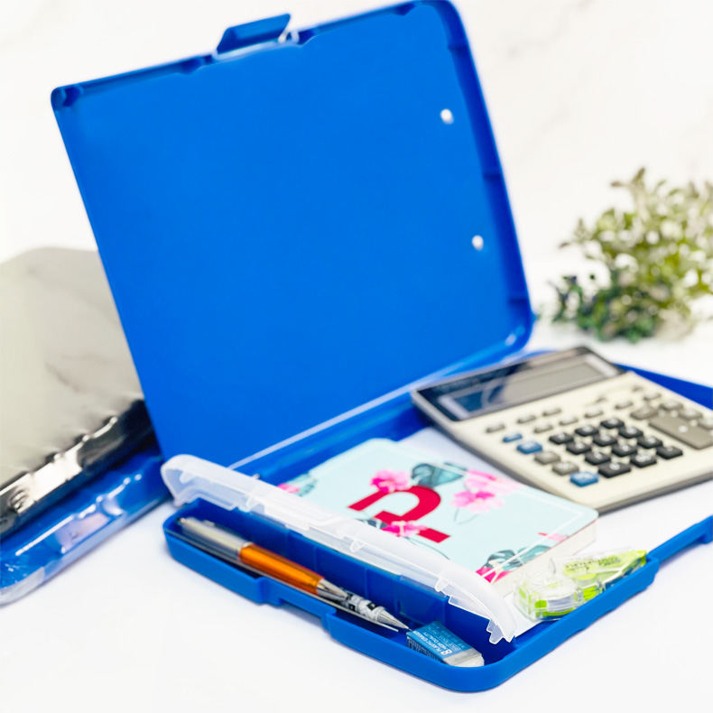Centre Clipboard With Storage Stationery Compartment