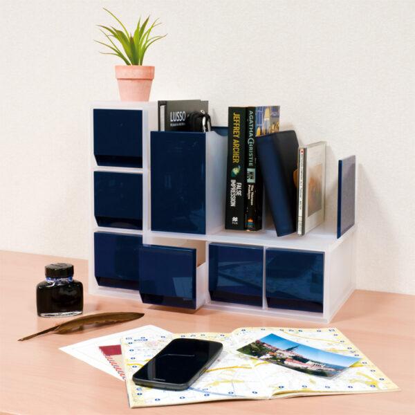 NCL Mini Cabinet BookEnds Magazine Rack Minimalist Inspired