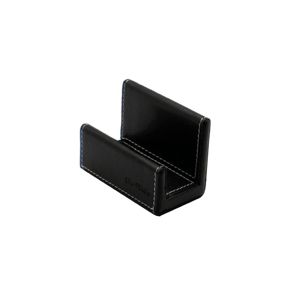 LA VIDA Faux Leather Name Card Holder