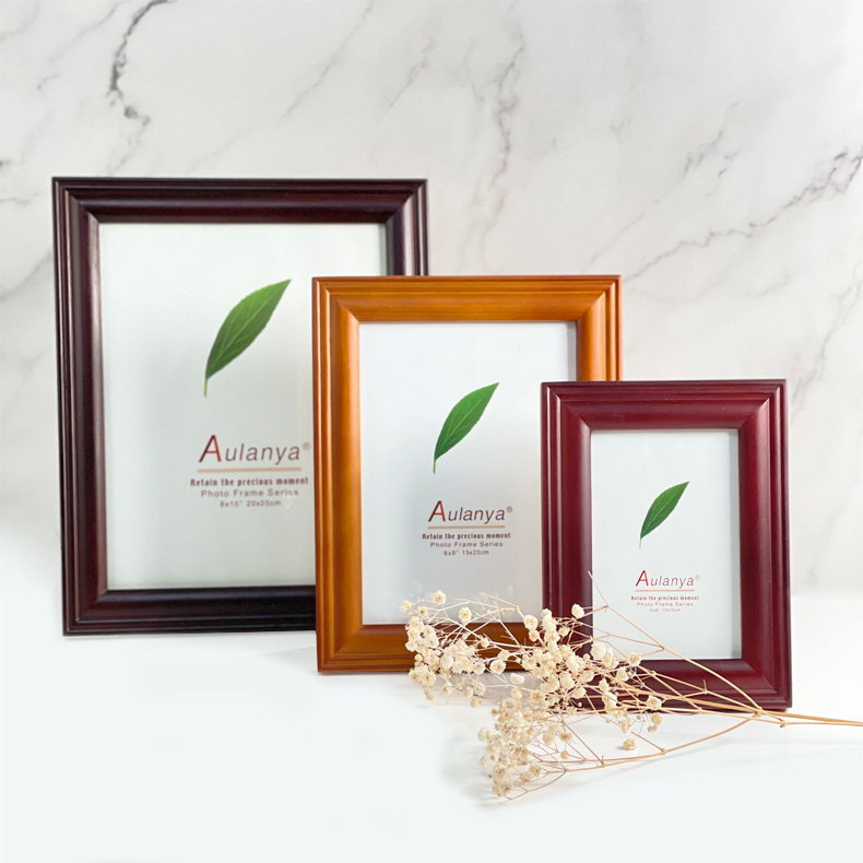 Centre Wooden Photo Frame / Picture Frame