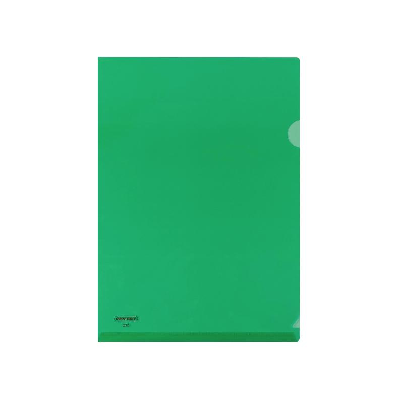 Centre L-Shaped Transparent Plastic Document Holder - A4