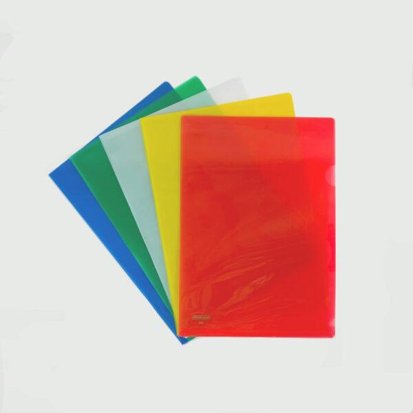 Centre L-Shaped Folder - A4