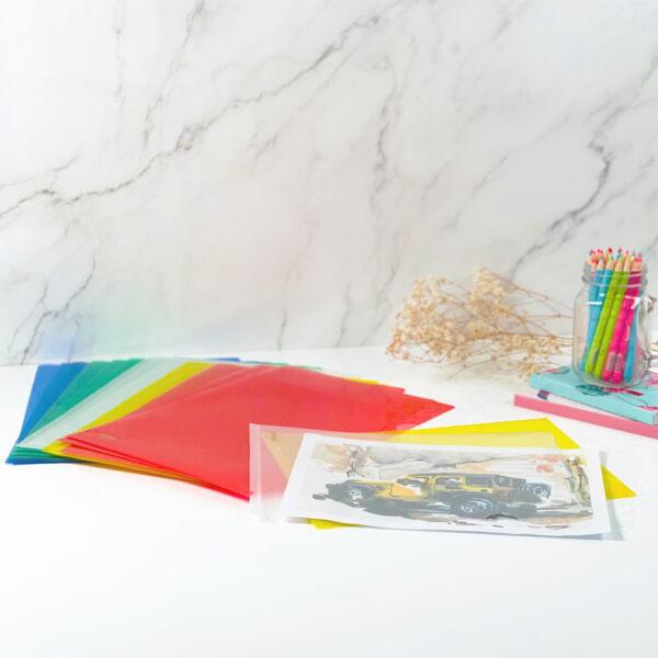 Centre L-Shaped Folder - A4 & F4
