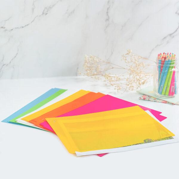 Centre Palette L-Shaped Folder - A4