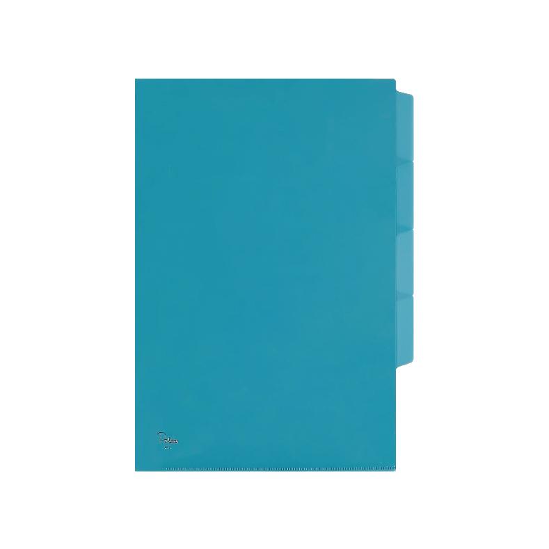 Centre L-Shaped Palette Plastic Document Holder ( With Index Divider ) - A4