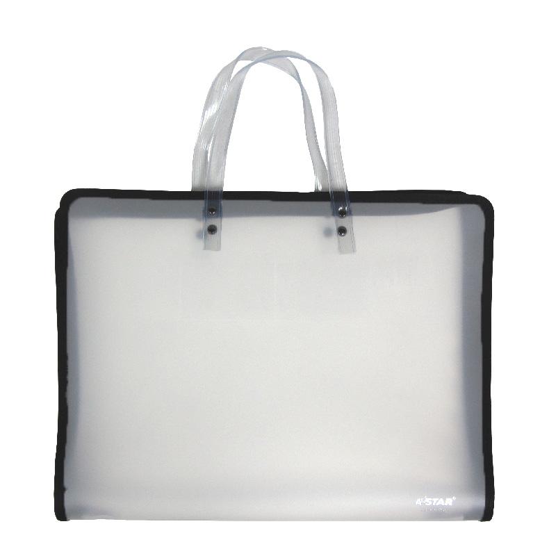 AStar Transparent Children Art Bag - A3