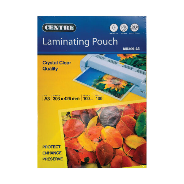 Centre Laminating Pouch / Film - A3